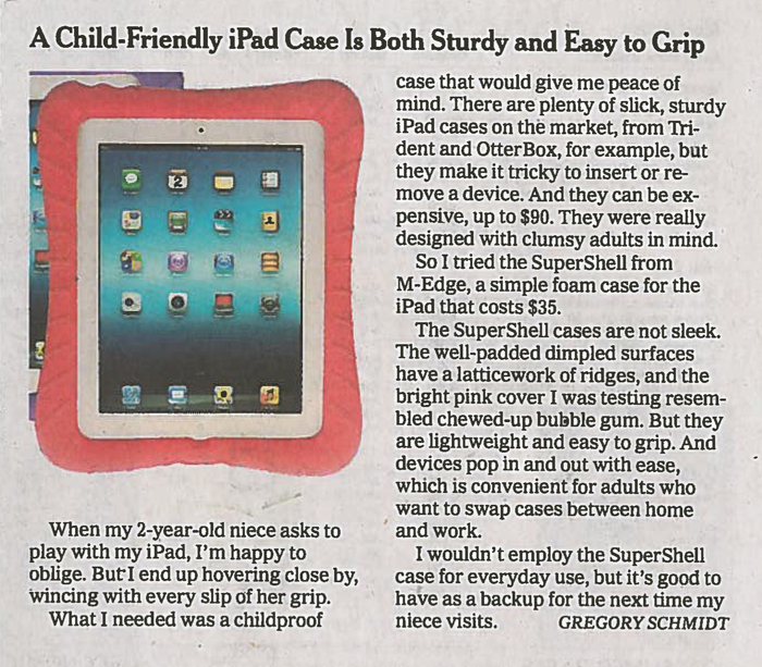 A Child-Friendly iPad Case Is Both Sturdy and Easy to Grip