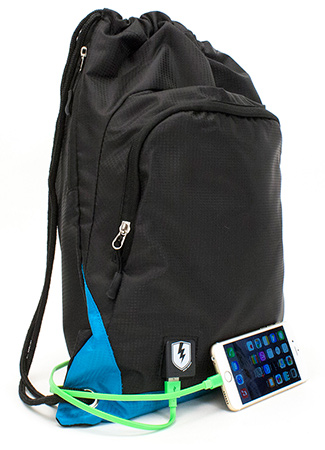 Tech Sackpack with Battery